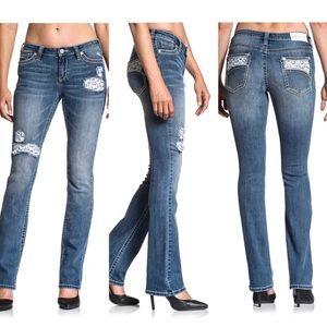 AFFLICTION Women's Denim Jeans JADE ARIES SIENNA